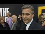 Джордж Клуни в шутку называет Жана Дюжардена